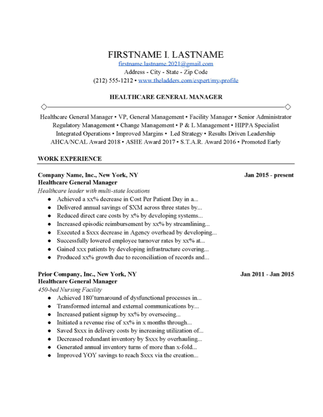 Cover Letter Examples Management from www.theladders.com