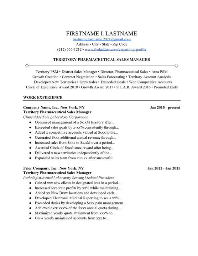 District Manager Cover Letter from www.theladders.com