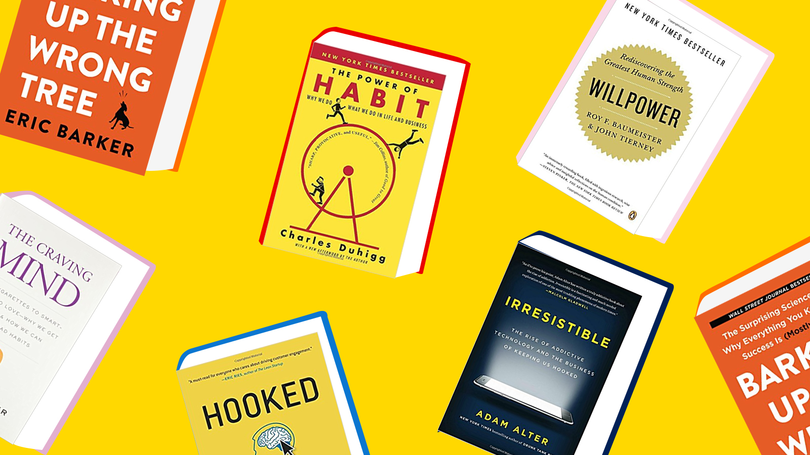 5 fascinating books on how to break bad habits
