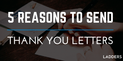 5 reasons to send thank you letters now more than ever