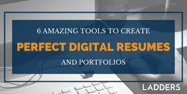 6 Amazing Resume Tools To Create Perfect Digital Resumes And Digital  Portfolios