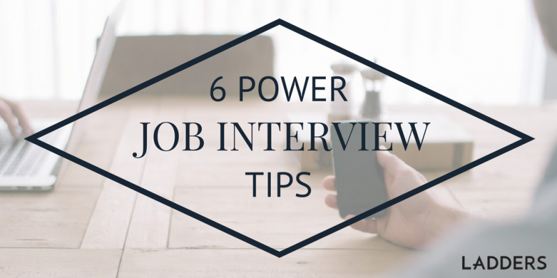 The Ladders  Job Interview Tips