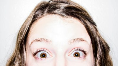 The way you blink may be freaking people out