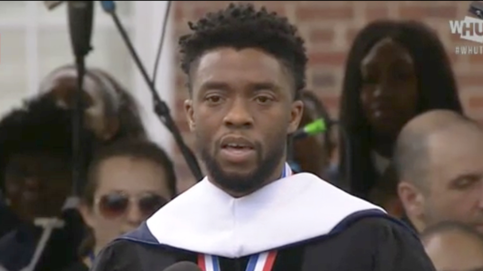 Chadwick Boseman to Howard's Class of 2018: 'Take the harder way'