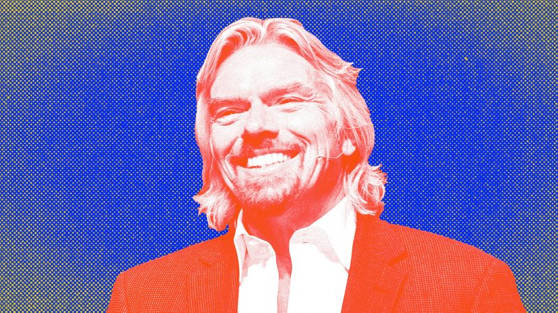 Billionaire Richard Branson has some simple advice for those who want to succeed