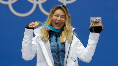 Olympic champ Chloe Kim on the secret to facing challenges head on