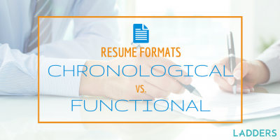 Chronological Resume Format v. Functional Resume Format