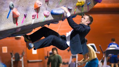 What wall climbing taught me about giving powerful presentations – and life in general