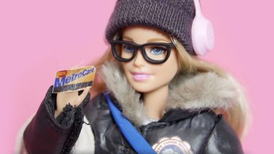 New Commuter Barbie video reveals who we are on public transportation