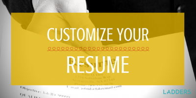 Customize Your Resume for That Plum Job