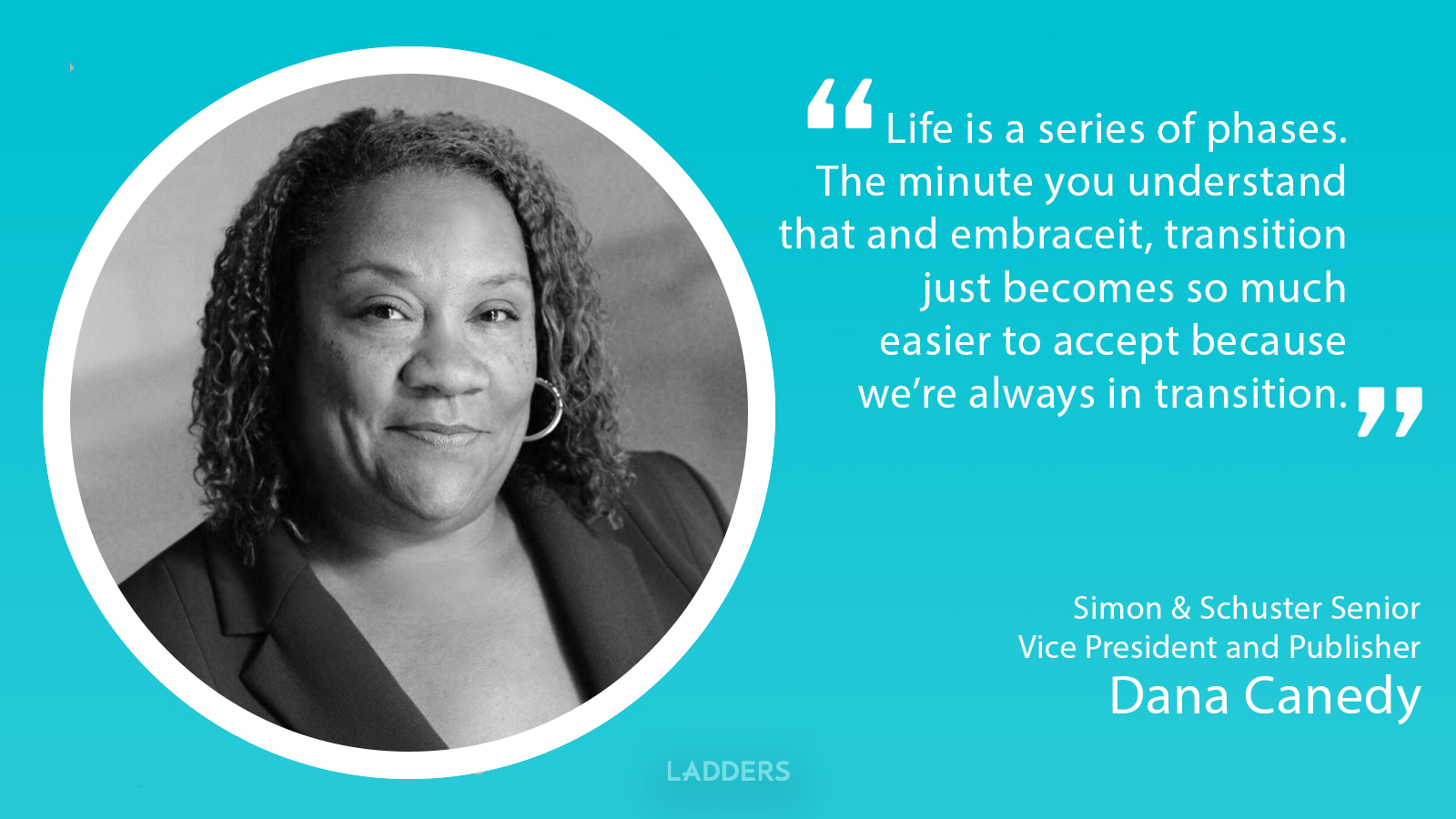 Simon & Schuster's new publisher Dana Canedy is proof that major career transitions can work