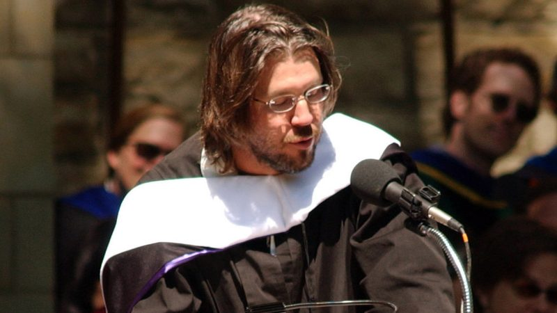 David Foster Wallace: 'You get to consciously decide what has meaning and what doesn't'
