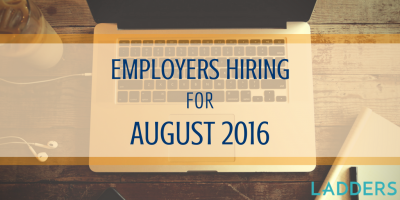 Employers hiring for August 2015