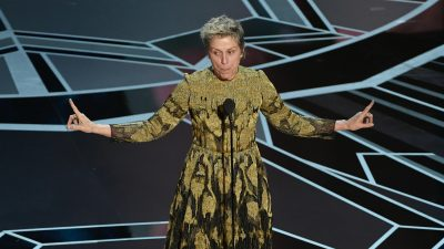 What Frances McDormand's Oscars speech can teach us about sharing success with others