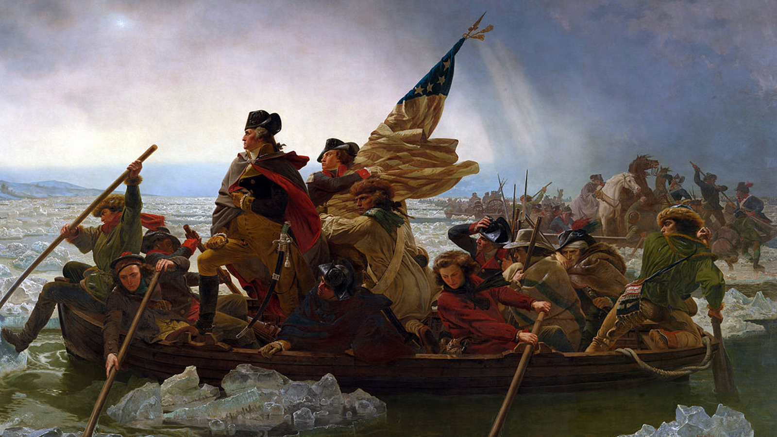 George washtington crossing the potomac article
