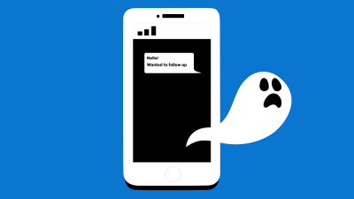 Boo freakin' hoo: What to do if you're being professionally ghosted