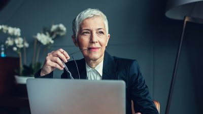 Going gray: Will silver hair hurt or help your career?