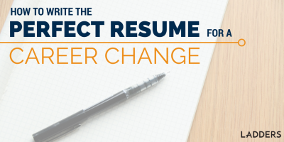 how to write the perfect resume to make a career change