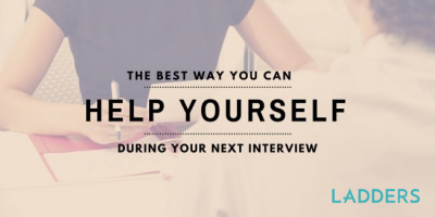 The Best Way You Can Help Yourself During Your Next Interview