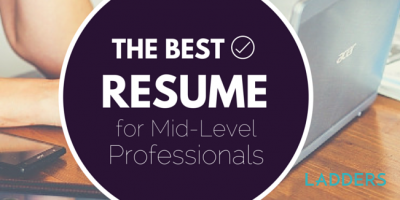 Here's What a Mid-Level Professional's Resume Should Look Like