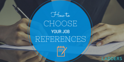 How to Choose Your Job References