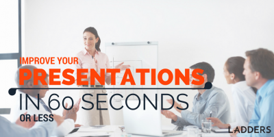 Improve Your Presentations in 60 Seconds or Less