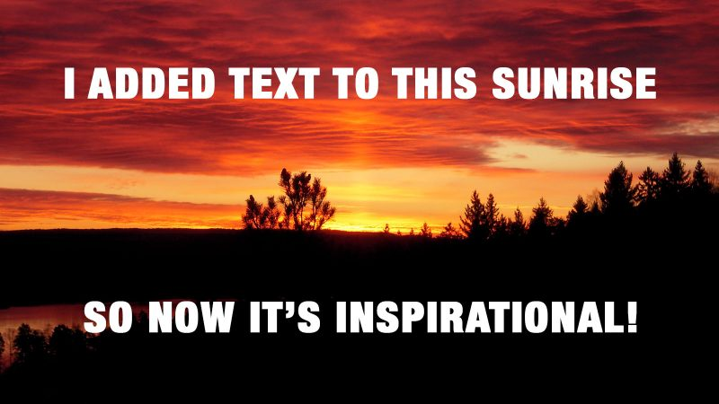 inspirational memes are ruining your career ladders