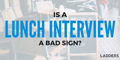 Is a Lunch Interview a Bad Sign?