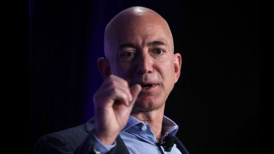 Oops! Amazon's Jeff Bezos has a misattributed 'Ralph Waldo Emerson' quote on his refrigerator