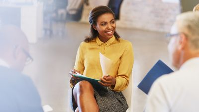 How women can take control of their leadership presence