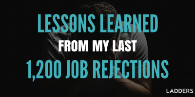 Lessons learned from my last 1,200 job rejections