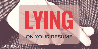 Lying on Your Resume