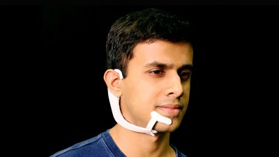 New headset would allow 'silent speech' between humans and tech