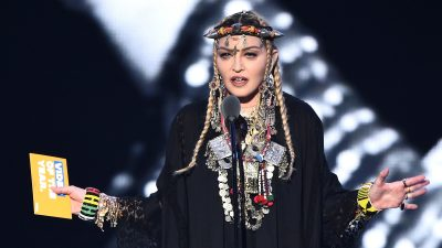 Madonna shows us how not to honor someone's career at the 2018 MTV VMAs