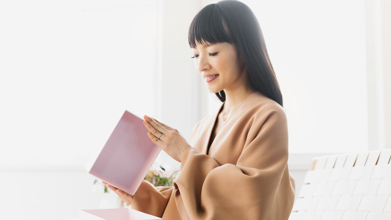Marie Kondo explains how to spark joy in your job search