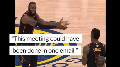 The best LeBron James NBA Finals memes related to work