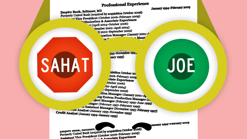 Study: Job candidates with ethnic-sounding names get fewer