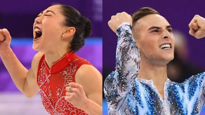 Get inspired by Mirai Nagasu and Adam Rippon's Olympic comeback