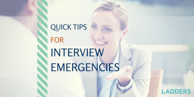 Quick Tips for 5 Common Job Interview Emergencies