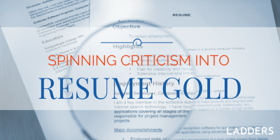 Spinning Resume Criticism into Revision Gold