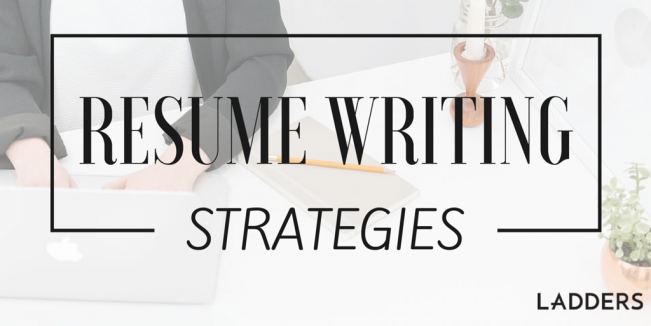 resume writing strategies from a career coachs tool kit ladders - Writing Resume