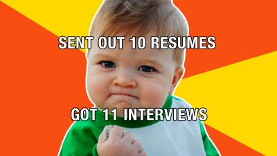 Be less boring: Make your resume more like a meme