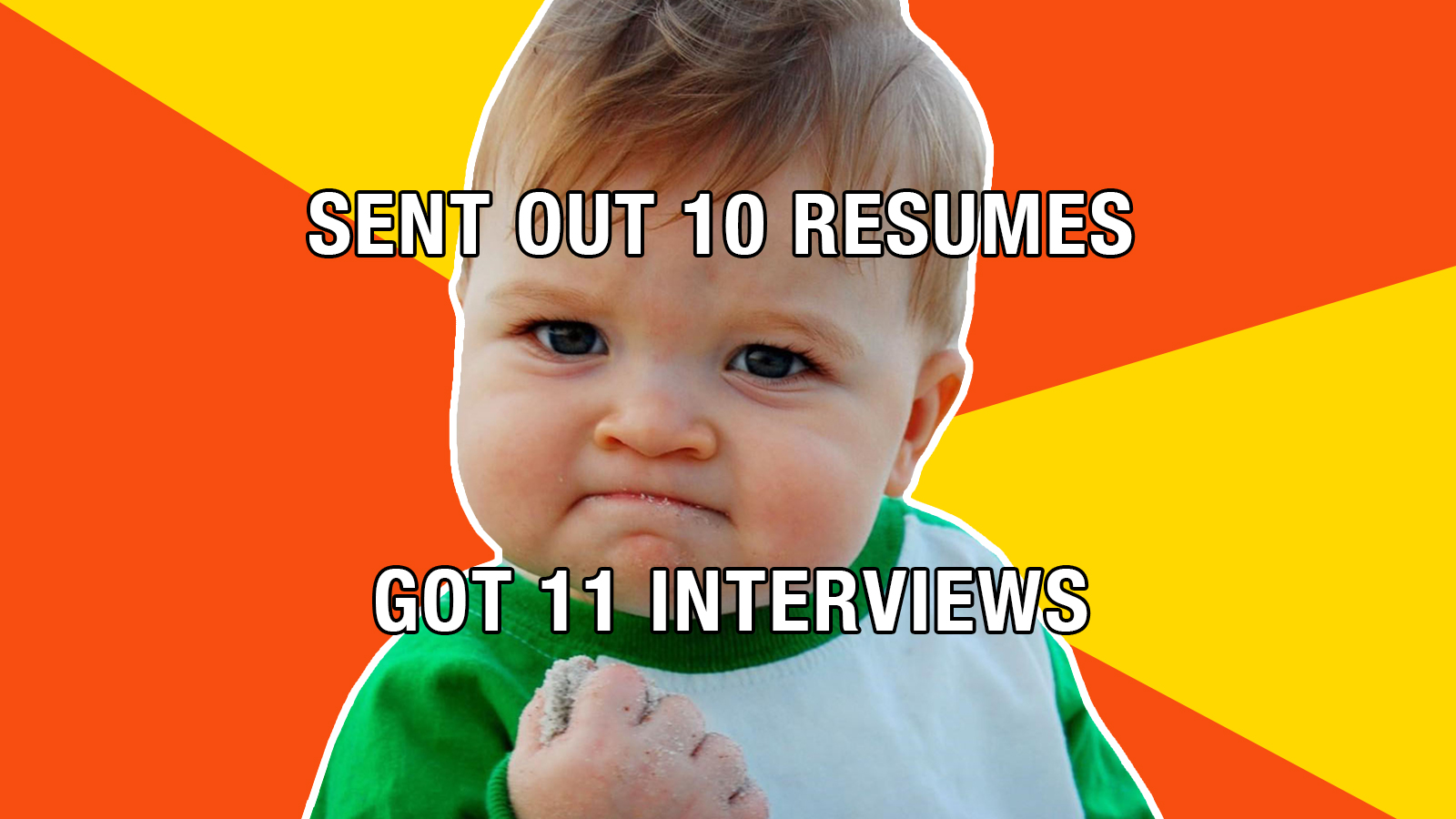 Be Less Boring Make Your Resume More Like A Meme