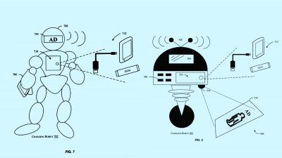 Amazon patents a robot to stalk you at the airport