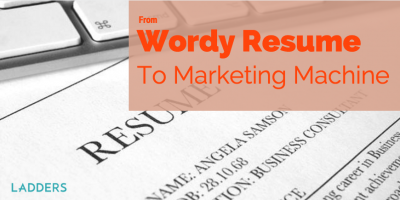 A Wordy Resume Becomes a Two-Page Marketing Machine