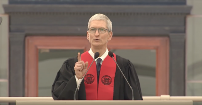 Tim Cook to MIT's Class of 2017: 'How will you serve humanity?'