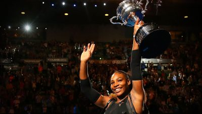 Serena Williams says winning a Grand Slam while pregnant wasn't 'easy'