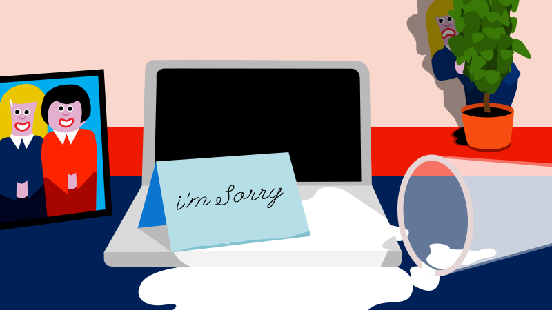 9 things smart people do after they screw up at work