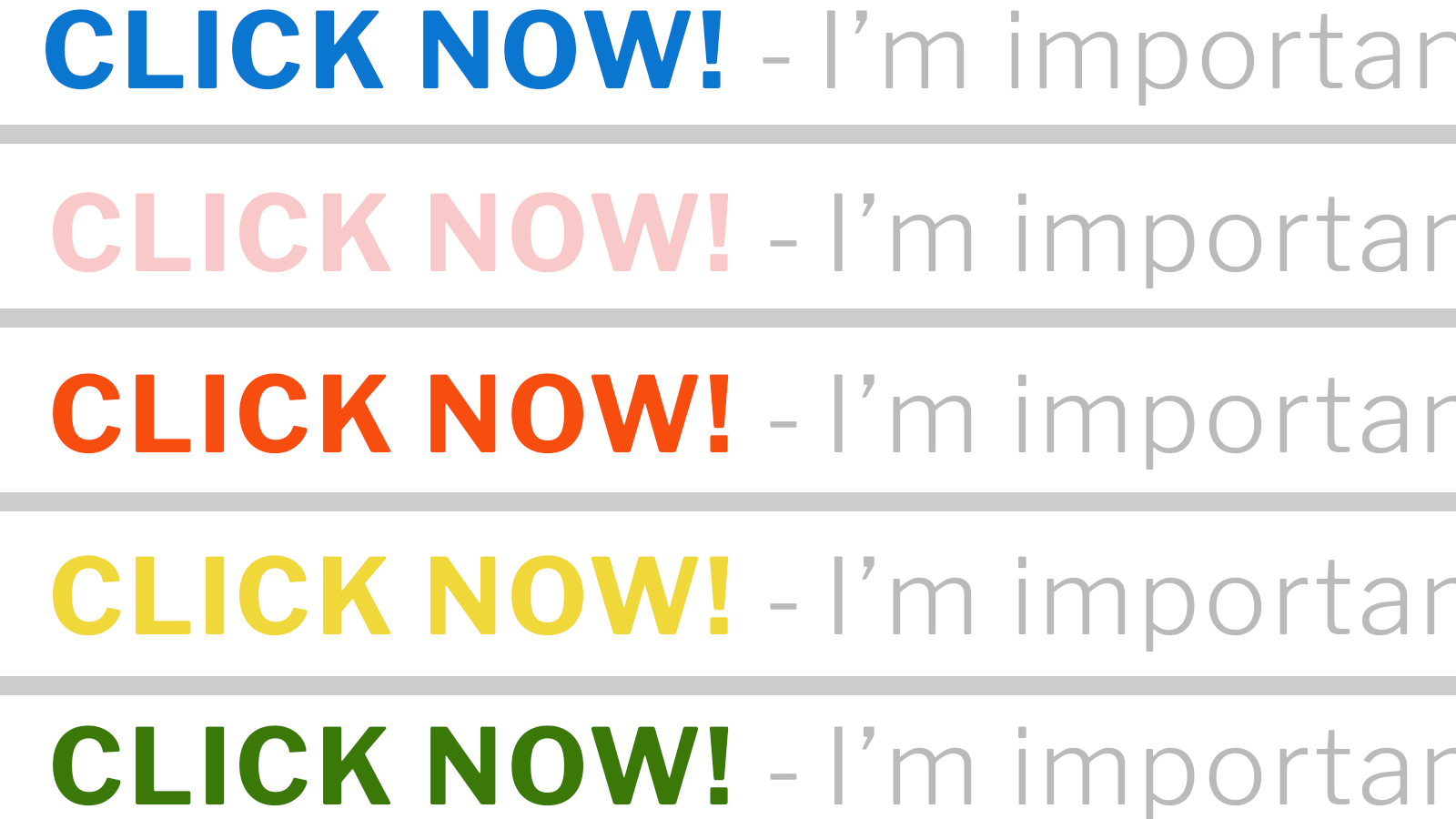 What not to do when writing email subject lines
