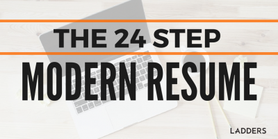 The 24-step Modern Resume